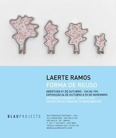 VISUAL ARTV: VISUAL ARTV - BLAUPROJECTS - EXPOSIÇÃO LAERTE RAMO...