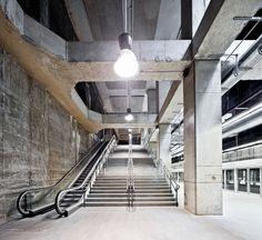 Garcés de Seta Bonet arquitectes, 3 estacions de metro de la L9, Barcelona, 2011
