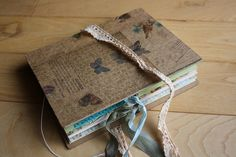 handmade book....possibly altered?