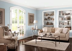 This is the project I created on Behr.com. I used these colors: ALICE WHITE(MQ3-58),CAMEO WHITE(MQ3-32),