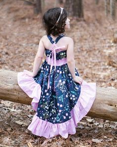Hope's Hi-Low Dress PDF Pattern Sizes 6/12m to 8 Kids   Etsy High Low Skirt, Hi Low Dresses, Step By Step Instructions, School Stuff, Middle School, Bodice, Pdf, Fancy, Skirts
