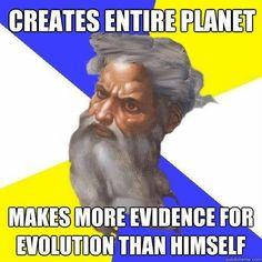 Why would an all-knowing creator do that I wonder? #atheist #atheism #religion #evolution #creationism