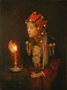 Contemporary Folk Art Chinese Artist Qi Chengxiang www.interactchina.com/servlet/the-Painting-Art/Categories