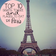 HOPEFUL WANDERING: 10 things you {MUST} do in Paris!!