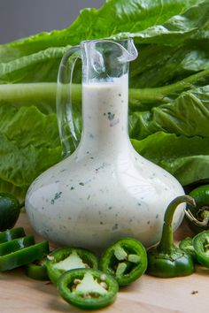 Jalapeno Popper Dressing » YUM! This sounds really good, this will be happening soon!
