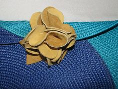 Leather Flower   Flickr - Photo Sharing!