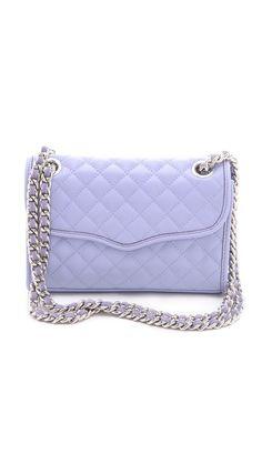 Lilac Rebecca Minkoff Quilt Mini Affair Bag