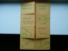 introduction to geometry vocabulary foldable