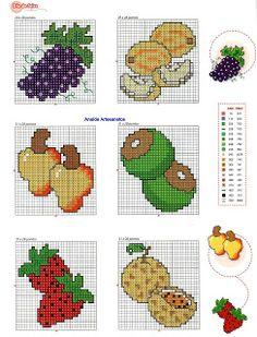 Brilliant Cross Stitch Embroidery Tips Ideas. Mesmerizing Cross Stitch Embroidery Tips Ideas. Cross Stitch Fruit, Butterfly Cross Stitch, Cross Stitch Boards, Cross Stitch Kitchen, Cross Stitch Bookmarks, Mini Cross Stitch, Cross Stitching, Cross Stitch Embroidery, Perler Bead Emoji