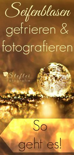 Gefrorene Seifenblasen fotografieren You want a simple guide on how to freeze bubbles? And would you like to create fascinating photos? Here are some tips and tricks to take pictures of frozen soap bubbles.
