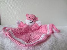 crochet pattern lovey, security blanket, softie, nederlands patroon tutteldoekje