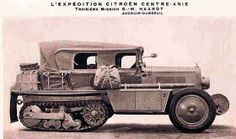 Just a car guy : From Algeria to Mozambique by eight 10 Hp Citroen half tracks in 1924-25