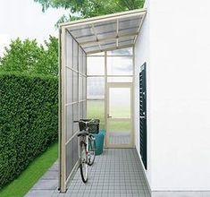 ストックヤードⅡ 限られた敷地を有効利用して、アウトドア用品や自転車などの収納・整頓を便利にする囲い。