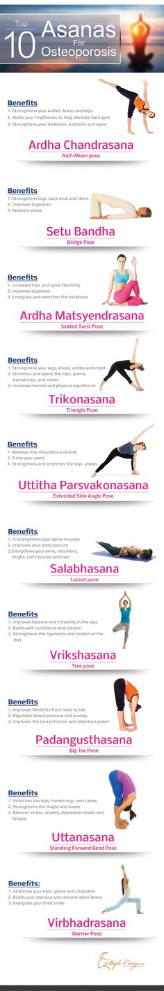 yoga osteoporosis treatment top 10 asanas support bone health tips tipsographic