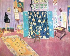 The Pink Studio, 1911, Matisse