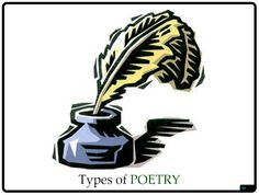 Learn about all different kinds of poetry with VizZle's interactive lesson