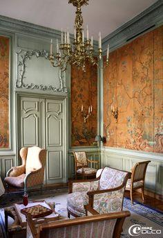 Le cabinet chinois de l'Hôtel La Mirande