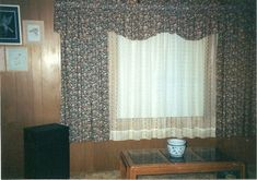 Forest Cottage, Curtains, Home Decor, Blinds, Decoration Home, Room Decor, Draping, Home Interior Design, Picture Window Treatments