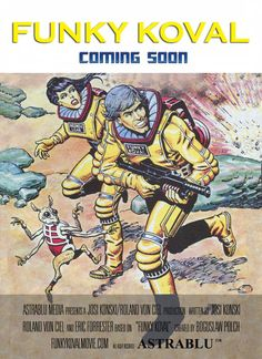 Funky Koval 2011 Comic Art, Comic Books, Classic Comics, Top Movies, Cartoons, Comics, Comic Book, Graphic Novels, Cartoon Art