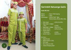 Baju Muslim Keluarga Galis 010 Lebaran 2014 | Warung Muslimah