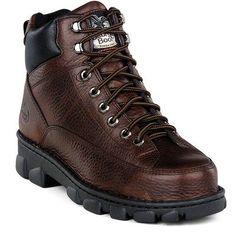 TOPSELLER! Georgia Boot Men's Georgia Giant Romeo Steel Toe Slip-On Work Shoes $71.99