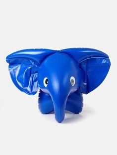Inflatable toy elephant by Czech designer Libuše-Niklová | moonpicnic.com