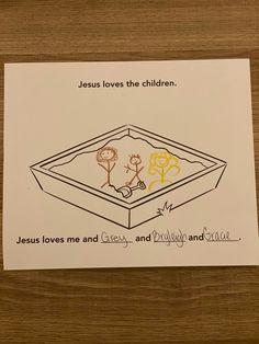 Sample for 3-5s week 1; Children in the Sandbox