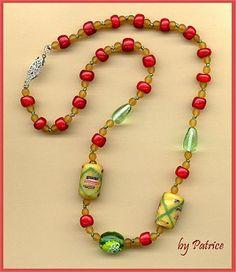 IDEA: African Trade Bead Necklace