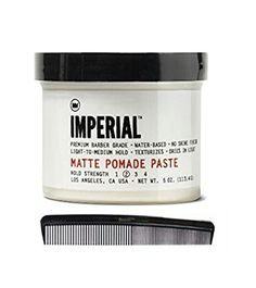 Imperial Barber Products Matte Pomade 4 oz with BraidZ Comb *** Continue to the product at the image link.