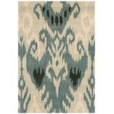 Found it at AllModern - Ikat Beige/Slate Rug $819. (need to see sample first)