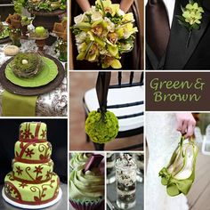 Four Fab Wedding Colors Paired With Brown | Wedding Color Stories ...