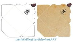 Hogwarts Envelope by LittleFallingStar.deviantart.com on @DeviantArt