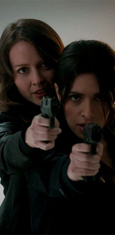 "Shahi & Acker in ""Person of Interest"""