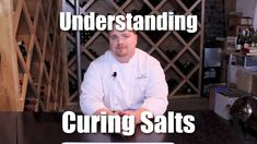 """In this video I answer Allen's question: """"What's the difference between sodium nitrite, nitrate & pink curing salt? Smoked Kielbasa Recipe, Jerky Dehydrator, Pink Curing Salt, Curing Bacon, Charcuterie Recipes, Smoke Bbq, How To Make Sausage, Sausage Making"""