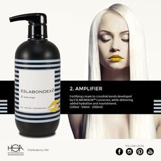 Eslabondexx system: and here it is number 2, Amplifier #hair #hairstyle #haircolour #haircolor #fashion #style #longhair #curly #straight #black #brown #red #blonde #hairfashion #coolhair #bauty #nouvellecolor #hsacosmetics #silkycolor