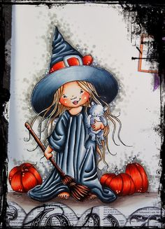 Copic Marker Europe: A lovely witch