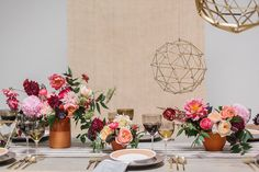 Organic bohemian wedding inspiration on 100 Layer Cake | Floral + Design: The Southern Table | Photo by Apryl Ann Photo