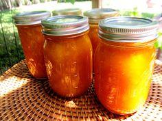 Mmmm..Mango jam. Preserve mangoes for a taste of the tropics year round!