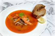 rybí polévka náhled