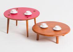 Lanzavecchia + Wai collection includes hamburger tables