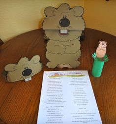 Fun activities for Groundhog's Day