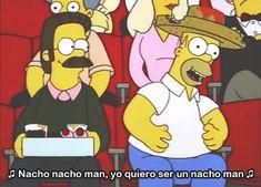 man homer simpson GIF ned flanders The Simpsons Simpsons Frases, Memes Simpsons, The Simpsons, Simpsons Episodes, Homer And Marge, Homer Simpson, Ned Flanders, Pokemon, American Dad