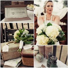 1940 inspired wedding | The Best Rustic And Vintage Wedding Inspirations - Rustic Wedding Chic