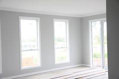 These are our colours Dulux Tranquil Retreat - Quarter Lexicon Quarter for ceiling/trim