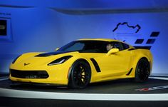 Photos: Hot cars at the North American International Auto Show Saleen Mustang, Yellow Corvette, Chevy Corvette Z06, Detroit Auto Show, Corvette Convertible, Hot Cars, Concept Cars, Dream Cars, Super Cars