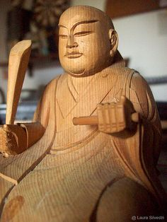 Nichiren Daishonin Statue | © Laura Silvestri