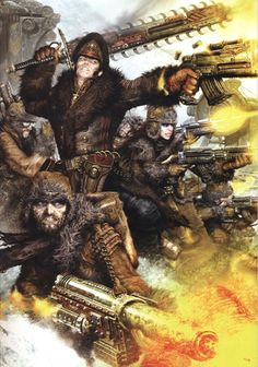 Valhallan Ice Warriors - Warhammer 40K Wiki - Space Marines, Chaos, planets, and more