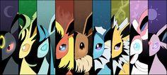 Z-Crystals for each Pokemon type Pokemon Fan Art, Pokemon Pins, All Pokemon, Umbreon And Espeon, Pokemon Eevee Evolutions, Eevee Wallpaper, 5 April, Pokemon Pictures, Digimon