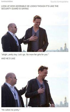 Tom Hiddleston everyone!!