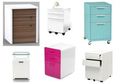 Modern Filing Cabinets: A Case of the Wants (http://blog.hgtv.com/design/2014/02/20/modern-filing-cabinets/?soc=pinterest)